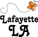 Lafayette Lousiana Butterfly T-shirts and Gifts