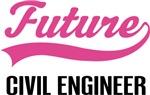 Future Civil Engineer Kids Occupation T-shirts