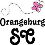 Orangeburg South Carolina Butterfly T-shirts