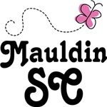 Mauldin South Carolina Butterfly T-shirts