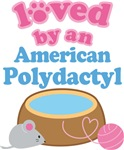 Loved By An American Polydactyl Cat T-shirts
