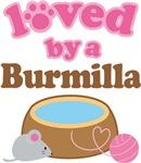 Loved By A Burmilla Tshirt Gifts