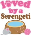 Loved By A Serengeti Tshirt Gifts