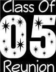 Class Of 2005 Reunion Tee Shirts