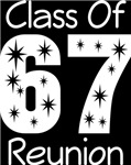 Class Of 1967 Reunion Tee Shirts
