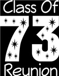 Class Of 1973 Reunion Tee Shirts