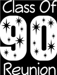 Class Of 1990 Reunion Tee Shirts