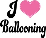 I Heart Ballooning T-shirts and Gifts