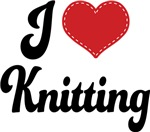 I Heart Knitting T-shirts and Gifts