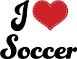 I Heart Soccer T-shirts and Gifts