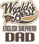 English Shepherd Dad (Worlds Best) T-shirts