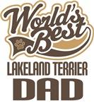 Lakeland Terrier Dad (Worlds Best) T-shirts