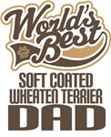 Soft Coated Wheaten Terrier Dad (Worlds Best) Tees