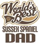 Sussex Spaniel Dad (Worlds Best) T-shirts