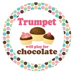 TRUMPET MOD DOT MUSIC GIFTS AND TEES
