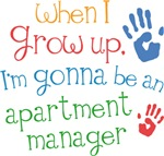 Future Apartment Manager Kids T-shirts
