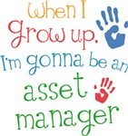 Future Asset Manager Kids T-shirts