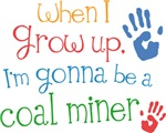 Future Coal Miner Kids T-shirts