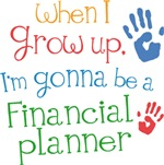 Future Financial Planner Kids T-shirts