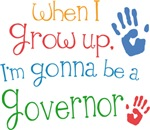 Future Governor Kids T-shirts