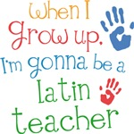 Future Latin Teacher Kids T-shirts