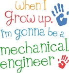 Future Mechanical Engineer Kids T-shirts