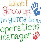 Future Operations Manager Kids T-shirts