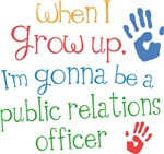 Future Public Relations Officer Kids T-shirts