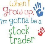 Future Stock Trader Kids T-shirts