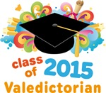 Valedictorian Colorful 2015 Graduate Gifts