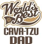 Cava-Tzu Dad (Worlds Best) T-shirts
