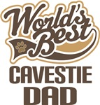 Cavestie Dad (Worlds Best) T-shirts
