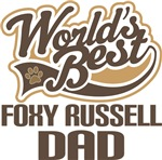 Foxy Russell Dad (Worlds Best) T-shirts