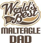 Malteagle Dad (Worlds Best) T-shirts