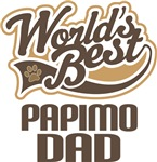 Papimo Dad (Worlds Best) T-shirts