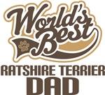 Ratshire Terrier Dad (Worlds Best) T-shirts