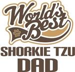 Shorkie Tzu Dad (Worlds Best) T-shirts