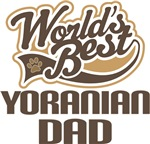Yoranian Dad (Worlds Best) T-shirts