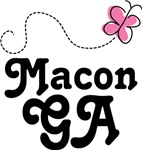 Macon Georgia Butterfly T-shirts and Ho