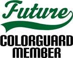 Future Colorguard Member Kids T Shirts