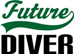 Future Diver Kids T Shirts