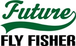 Future Fly Fisher Kids T Shirts