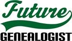 Future Genealogist Kids T Shirts