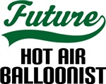 Future Hot Air Balloonist Kids T Shirts