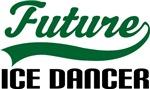 Future Ice Dancer Kids T Shirts