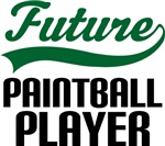 Future Paintball Player Kids T Shirts