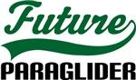 Future Paraglider Kids T Shirts
