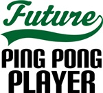 Future Ping Pong Player Kids T Shirts