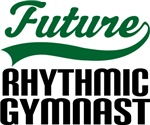 Future Rhythmic Gymnast Kids T Shirts