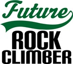 Future Rock Climber Kids T Shirts